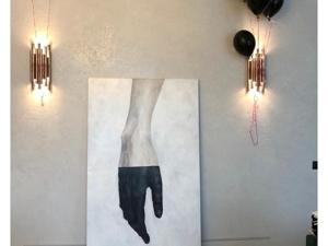 Вот и наша рука в интерьере заказчицы. Ярмарка Мастеров - ручная работа, handmade.