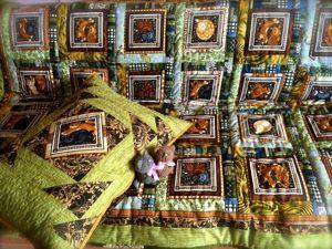 Детское лоскутное одеяло своими руками. Часть 8: окантовка. Ярмарка Мастеров - ручная работа, handmade.