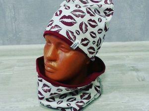 Шьем трикотажную шапку своими руками. Ярмарка Мастеров - ручная работа, handmade.