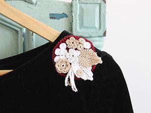 """Как правильно носить брошь. Советы от мастерской """"Матушка"""". Ярмарка Мастеров - ручная работа, handmade."""