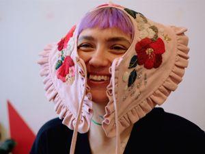 Воротнички с вышивкой. Ярмарка Мастеров - ручная работа, handmade.