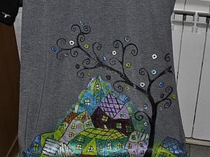 Мастер-класс: роспись юбки, или Как спрятать пятно. Ярмарка Мастеров - ручная работа, handmade.