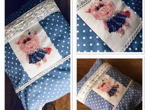 «Мамзеля»  подушка для малышки! Новинка!. Ярмарка Мастеров - ручная работа, handmade.