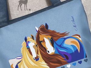 Краса и Буря – лошадки с характером!. Ярмарка Мастеров - ручная работа, handmade.