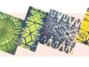 Узелковый батик: 3 самых простых способа создания узора на ткани. Ярмарка Мастеров - ручная работа, handmade.