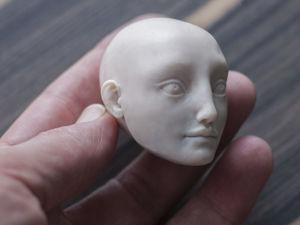 Создание новой мастер-модели. Лепка головы. Ярмарка Мастеров - ручная работа, handmade.