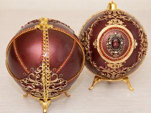 Набор новогодних шаров. Ярмарка Мастеров - ручная работа, handmade.
