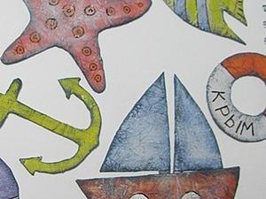 Декор детской в морском стиле.. Ярмарка Мастеров - ручная работа, handmade.