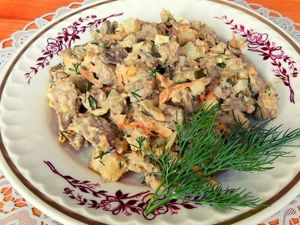 Печеночный салат из куриной печени. Ярмарка Мастеров - ручная работа, handmade.
