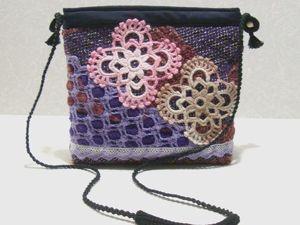 Сумочка-косметичка текстильная. Фантазия. Ярмарка Мастеров - ручная работа, handmade.