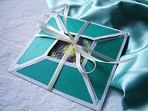 Как сделать упаковку-конвертик. Ярмарка Мастеров - ручная работа, handmade.