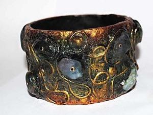 Экстравагантный браслет. Ярмарка Мастеров - ручная работа, handmade.
