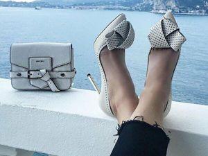 Самые модные туфли лета 2019. Ярмарка Мастеров - ручная работа, handmade.