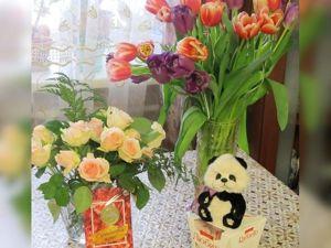 С Днем 8 Марта, милые женщины !!!. Ярмарка Мастеров - ручная работа, handmade.