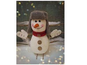 Утепляемся шапкой-ушанкой. Шьем шапку для игрушки. Ярмарка Мастеров - ручная работа, handmade.