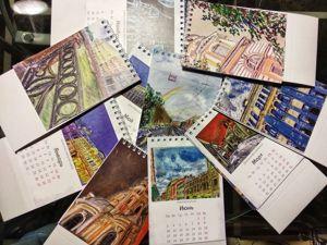 Календари как повод продлить праздник. Ярмарка Мастеров - ручная работа, handmade.
