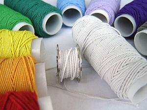 Использование нитки-резинки для создания складок на ткани. Ярмарка Мастеров - ручная работа, handmade.