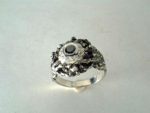 Кольцо,перстень  ,серебро. Ярмарка Мастеров - ручная работа, handmade.