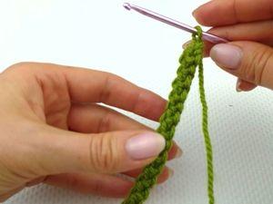 Как связать шнур крючком из пряжи?. Ярмарка Мастеров - ручная работа, handmade.