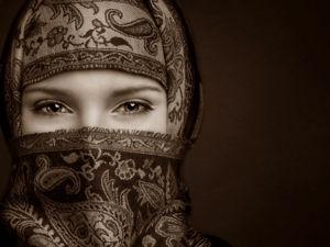 Почему женщины носят платок на голове. Ярмарка Мастеров - ручная работа, handmade.