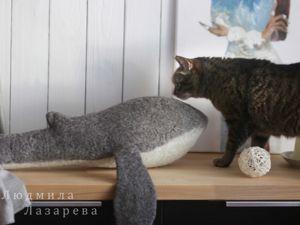 Создаем игрушку-подушку «Кит». Ярмарка Мастеров - ручная работа, handmade.