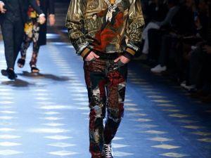 Стильная мужская коллекция Dolce&Gabbana Fall-Winter 17/18. Ярмарка Мастеров - ручная работа, handmade.