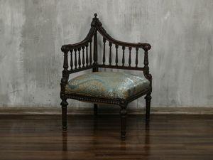 Интересная находка. Спасение антикварного углового кресла. Ярмарка Мастеров - ручная работа, handmade.