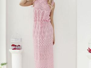 Аукцион на  ажурное летнее платьице! Старт 2500 руб.!. Ярмарка Мастеров - ручная работа, handmade.