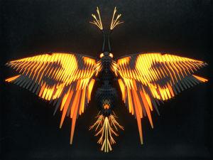 Полигональные насекомые от Иштвана Джордано. Ярмарка Мастеров - ручная работа, handmade.