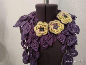 Распродажа!! Все шарфики по 699 руб!!!!. Ярмарка Мастеров - ручная работа, handmade.