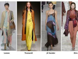 Весна-лето 2018. Модные синие и коричневые оттенки. Ярмарка Мастеров - ручная работа, handmade.