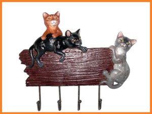 Декорируем вешалку «Милые кошечки». Ярмарка Мастеров - ручная работа, handmade.