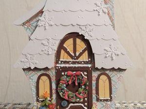 Зимний домики-открытки. Ярмарка Мастеров - ручная работа, handmade.