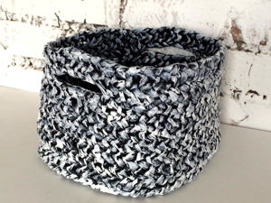 Video Tutorial: Woven Basket of Trash Bags. Livemaster - handmade
