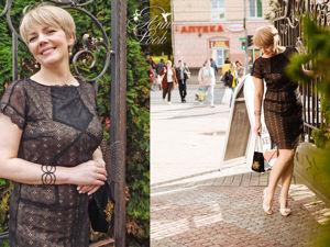 Маленькое чёрное платье. Ярмарка Мастеров - ручная работа, handmade.