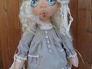"МК. Обувь для куклы ""Снежки"". Ярмарка Мастеров - ручная работа, handmade."