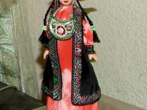 Моя Хакаска — кукла в народном костюме. Ярмарка Мастеров - ручная работа, handmade.