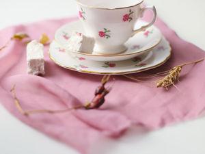 Винтажная фарфоровая чайная тройка трио Colclough Англия. Ярмарка Мастеров - ручная работа, handmade.