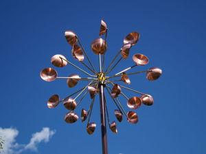 Ветряная кинетическая скульптура  «Шар». Ярмарка Мастеров - ручная работа, handmade.