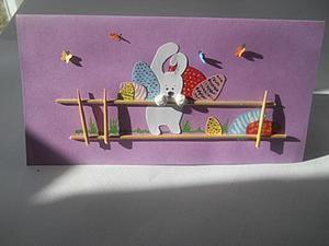 Делаем пасхальную открытку. Ярмарка Мастеров - ручная работа, handmade.
