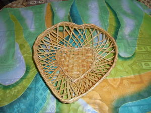 Видеоурок: хлебница «Сердечко» из бумажных трубочек. Ярмарка Мастеров - ручная работа, handmade.