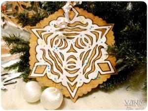 Печеньки на елку: простой новогодний декор. Ярмарка Мастеров - ручная работа, handmade.