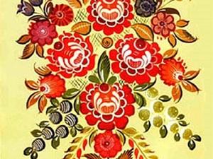 Городецкая роспись как источник вдохновения. Ярмарка Мастеров - ручная работа, handmade.