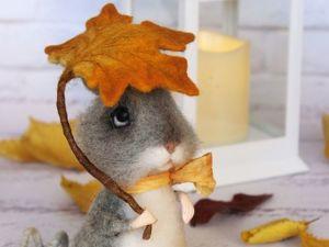 Розыгрыш чудесного мышонка. Ярмарка Мастеров - ручная работа, handmade.
