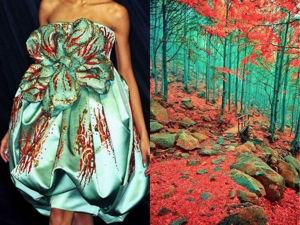 Природная красота в проекте Лидии Худяковой Fashion & Nature. Вдохновение Природой. Ярмарка Мастеров - ручная работа, handmade.