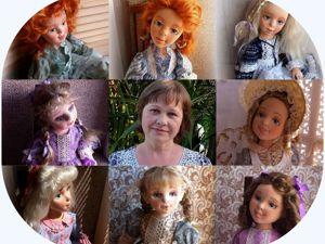 Мои любимые куклы. Ярмарка Мастеров - ручная работа, handmade.
