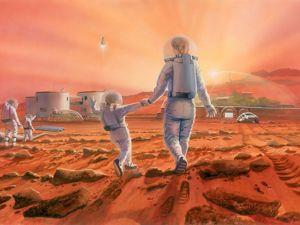 Есть ли жизнь на Марсе?. Ярмарка Мастеров - ручная работа, handmade.