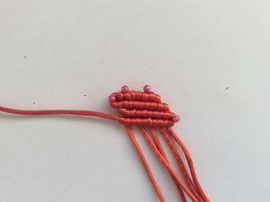 Плетем горизонтальный репсовый узел. Ярмарка Мастеров - ручная работа, handmade.