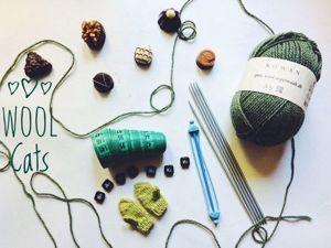 Учимся вязать варежки. Часть 2. Ярмарка Мастеров - ручная работа, handmade.