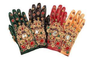 Нескучные аксессуары: перчатки, расшитые камнями, бисером и канителью. Ярмарка Мастеров - ручная работа, handmade.
